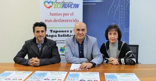 Campaña solidaria en Motril de recogida de tapones yreciclaje de trasterospara Daniel Giráldez