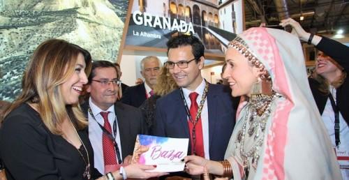 la provincia celebra su día en fitur con una degustación de sabor granada