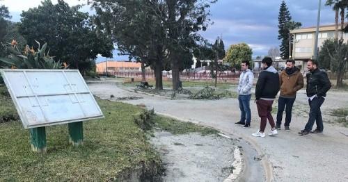 NNGG denuncia 'el estado crítico' del Parque de los Pueblos de América.jpg