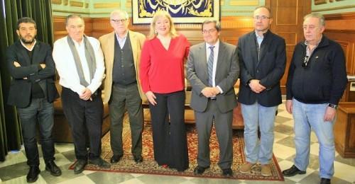 Ayuntamiento, Diputación y Comunidad de Regantes muestran su unión para conseguir las canalizaciones de Rules.jpg