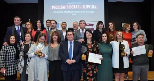 Diputación premia por primera vez las buenas prácticas en los servicios sociales de la provincia