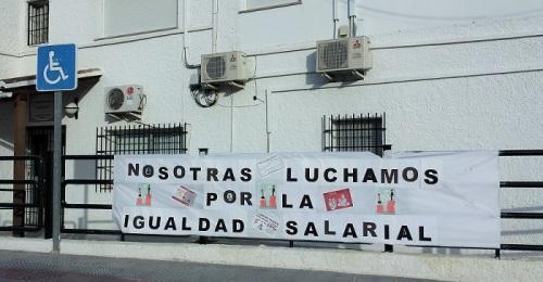 IU denuncia la injusticia que padecen las trabajadoras de Servicios Sociales