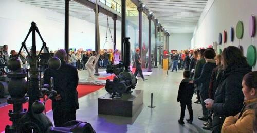 La Nave del Azúcar de la Fabrica del Pilar acoge 'Cinética', la nueva exposición del artista motrileño Antonio Bueno
