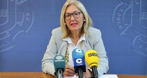 María Ángeles Escámez, teniente de alcalde Formación y Empleo Ayuntamiento de Motril