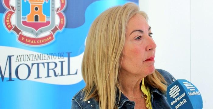 María Ángeles Escámez, teniente de alcalde responsable del área de Formación y Empleo del Ayuntamiento de Motril