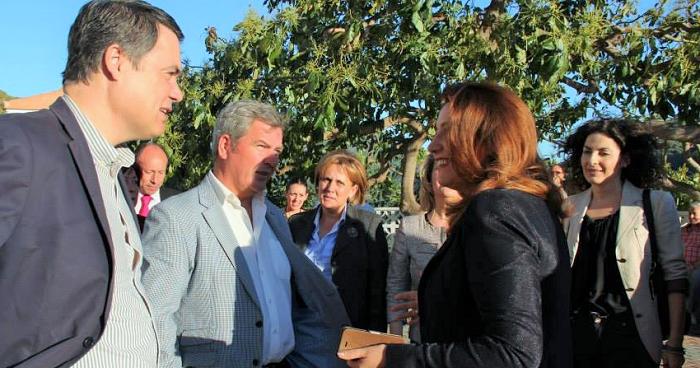 Rojas, García Fuentes y Carmen Crespo, PP