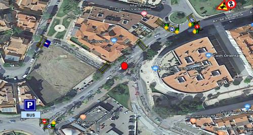 Cortada al tráfico por obras la avenida de Salobreña de Motril.png