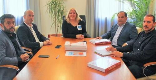 Flor Almón se reúne con Jerónimo Salcedo, nuevo presidente de AECOST