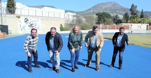 La renovación del pavimento sintético de la pista de atletismo y de su entorno encara la recta final.jpg