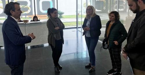 Mª Ángeles Escámez visita el Centro de Formación ubicado en el CDT en el que se encuentra la Escuela de Hostelería.jpg