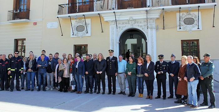 Motril recuerda a las víctimas del 11 de marzo en el decimoquinto aniversario de este terrible atentado