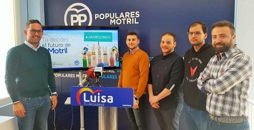 NNGG del PP de Motril inicia la campaña 'Tu decides el futuro de Motril'.jpg