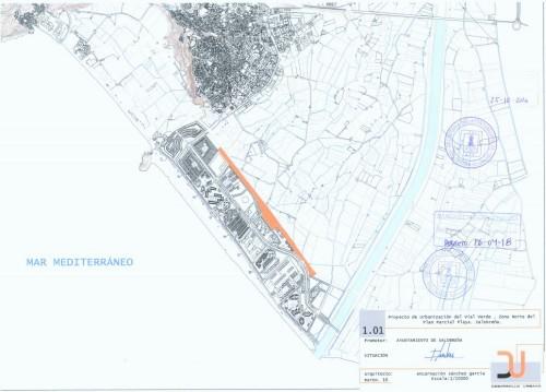 Se inician en Salobreña las obras de un gran parque lineal paralelo al vial central del TH1_plano.jpg