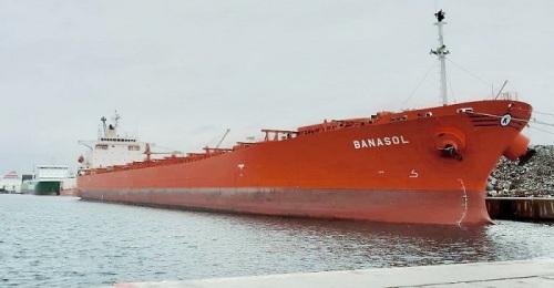 Atraca en el Puerto de Motril un barco con la tercera mayor eslora que se recuerda y con 50.000 t de melaza.jpg