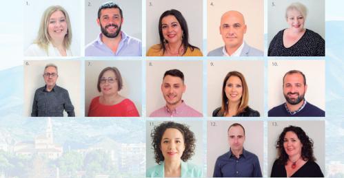 Candidatura PSOE Motril elecciones municipales 26 mayo 2019.png