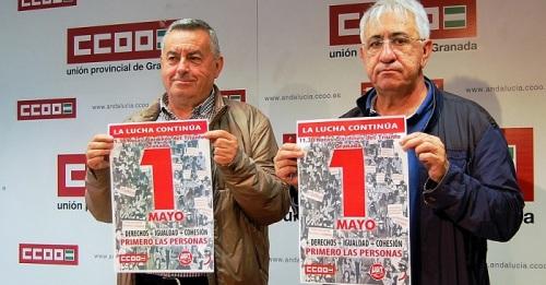 CCOO y UGT llaman a salir a la calle este 1º de mayo para exigir al Gobierno que se ocupe de las personas.jpg