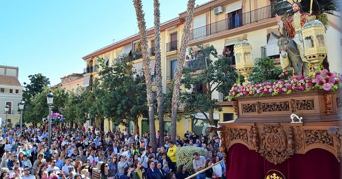 'La Borriquita' marca el inicio de la Semana Santa de Motril
