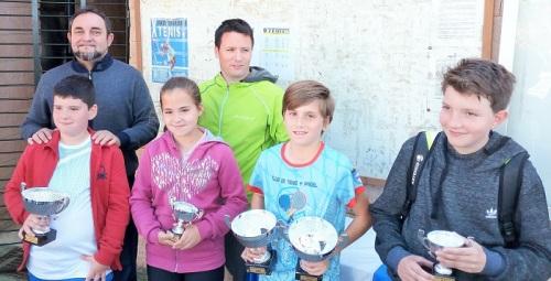 El X Circuito Municipal de Tenis de Motril pone de manifiesto el gran nivel de los jóvenes participantes