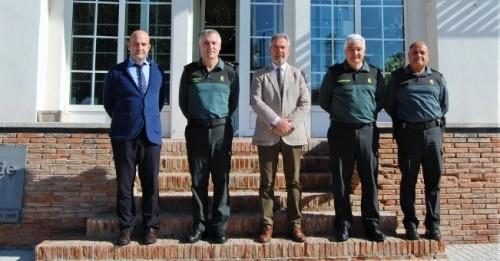 José García Fuentes se reúne con el Mando Único Operativo de Coordinación en el Estrecho, Félix Blázquez.jpg
