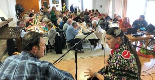 Mayores de Órgiva celebran sus bodas de Oro
