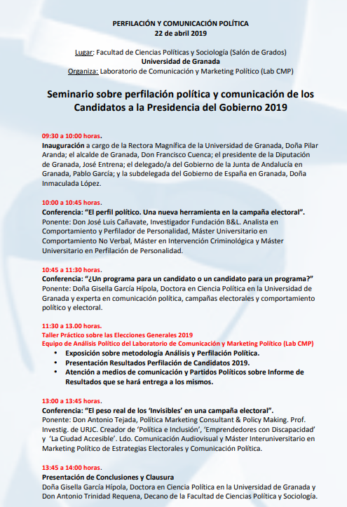 Programa 'Seminario sobre Perfilación Política y Comunicación de los Candidatos a la Presidencia del Gobierno de España 2019'.png