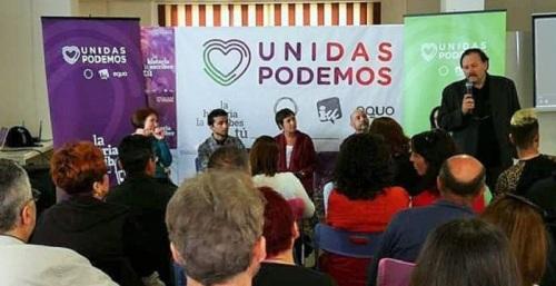 Unidas Podemos pide el voto en un acto realizado en Motril.jpg