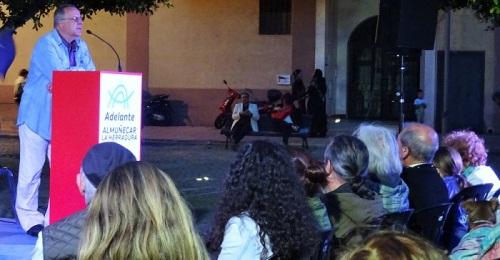 Adelante celebró el sábado en la Plaza del Acueducto un mitin fiesta.jpg