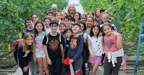 Alumnos del Colegio Nuestra Señora del Pilar visitan La Palma