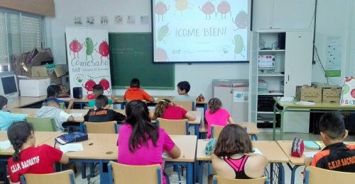 Arranca la séptima edición del programa 'ComeSano' de SAT Campos de Granada en Carchuna y Torrenueva