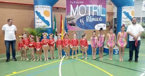 Éxito del IV Trofeo Ciudad de Motril de Gimnasia Rítmica con más de 400 gimnastas de la provincia granadina