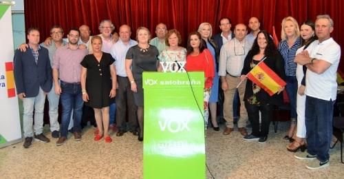 Candidatura Vox Salobreña_Elecciones municipales 26 de mayo 2019
