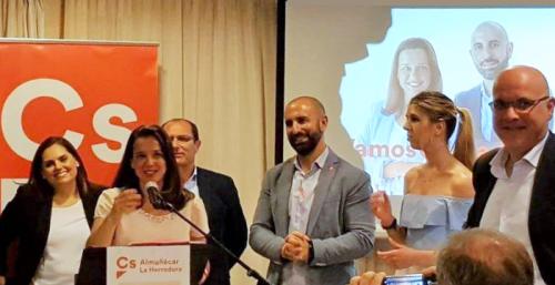Ciudadanos presentó su candidatura en La Herradura