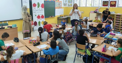 El programa 'ComeSano' de SAT Campos de Granada visita el CEIP Virgen del Mar de Calahonda.jpg