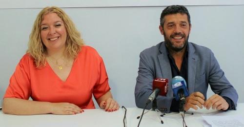 Flor Almón y Sánchez Cantalejo durante la rueda de prensa.jpg