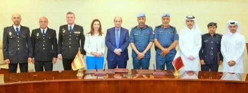 La Policía Nacional formará a oficiales de Qatar con vistas al mundial de fútbol de 2022.jpg