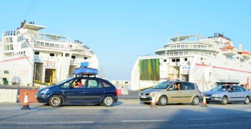 Puerto de Motril_Operación Paso del Estrecho