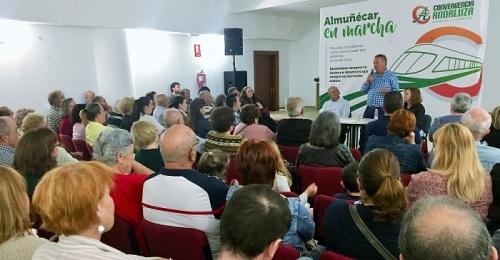 Un centenar de vecinos asiste al encuentro de Convergencia Andaluza en Torrecuevas
