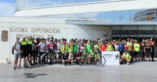 Diputación celebra el Día del Medio Ambiente con escolares concienciados con el uso del transporte ecológico