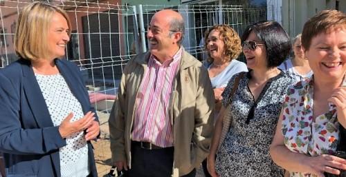 El 19 de julio fecha límite para la conclusión completa de las obras de la calle Ancha, anuncia García Chamorro