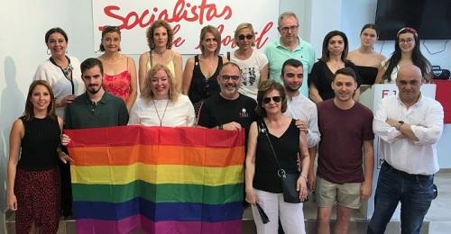 El PSOE de Motril se suma a las celebraciones del Día Internacional del Orgullo LGBTI.jpg