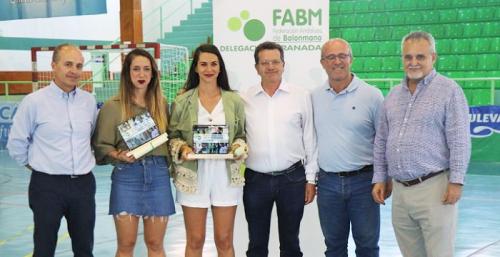 La Delegación Provincial de Balonmano reconoce en Almuñécar la labor de Luis Aragón y María Sánchez