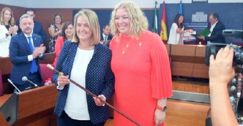 Luisa García Chamorro, elegida alcaldesa de Motril