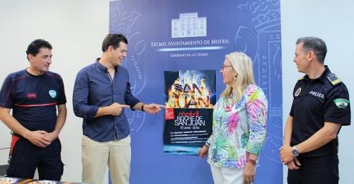 Motril presenta el programa y el dispositivo de seguridad para celebrar la Noche de San Juan.jpg