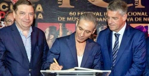 Pitingo abrió brillantemente el 60º Festival Internacional de Música y Danza Cueva de Nerja