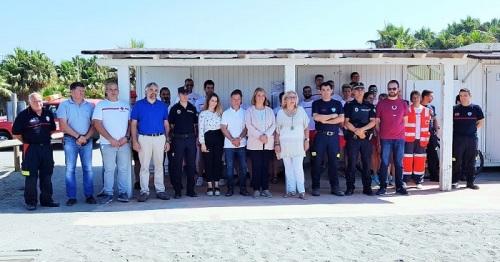 El Ayuntamiento presenta el Plan de Salvamento, Socorrismo y Vigilancia en las playas de Motril