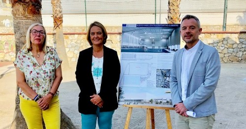 El Ayuntamiento presenta el proyecto del nuevo pabellón cubierto en el polideportivo municipal de Motril