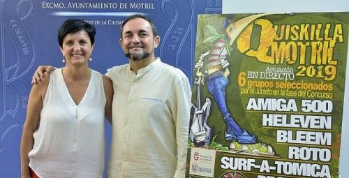 El próximo sábado 27 de julio tendrá lugar la fase final del concurso 'Quiskilla Motril 2019'