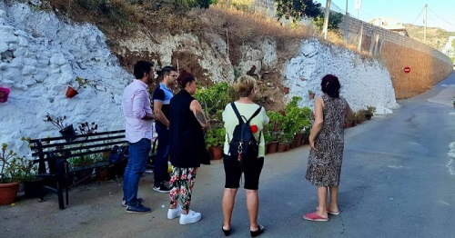 El PSOE valora la inversión del PFEA en Lanjarón, que reconstruirá el muro del Calvario tras cuatro años reclamándolo.jpg