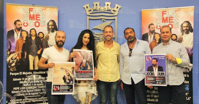 Grandes artistas en el cartel del VII Ciclo Flamenco Ciudad de Almuñécar.png