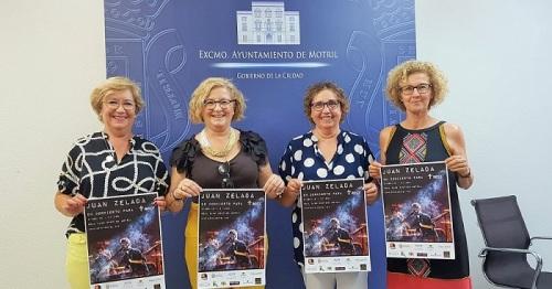 La AECC celebra en Motril una gala benéfica con la actuación de Juan Zelada el próximo 3 de agosto